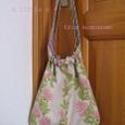 ハワイアン布のバッグ